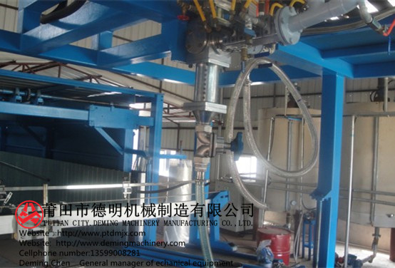 Production level of new sponge foam machinery