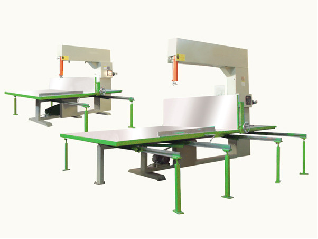 DMJX-4L Vertical Foam Cutting Machine