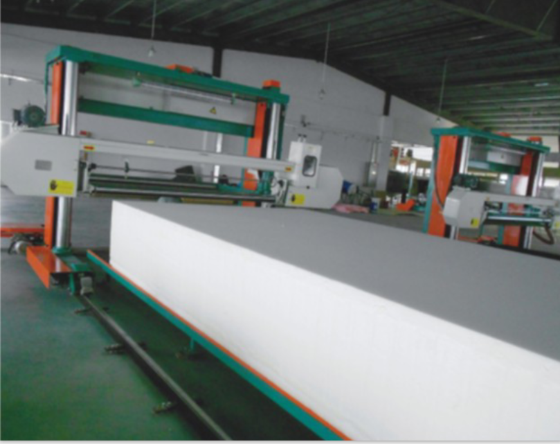 DMJX-1650/2150 long sheet foam cutting machine